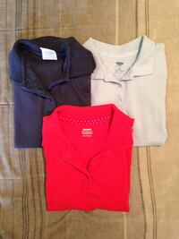Lot of 3 Girl school polo shirts size 6 and 6x Fayetteville, 28306