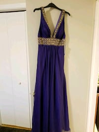 women's new purple sleeveless dress 'Joseph RIBKOF Laval, H7W 2J6