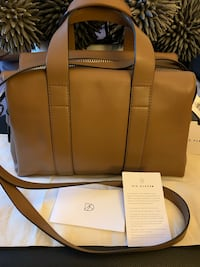 BNWT SIX ELEVEN MINI MC DUFFLE BAG - TAN LEATHER  Richmond, V7A 1H2