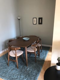 Dining table and six chairs - All Modern