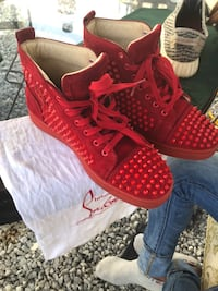 Pair of red Luis Vuitton shoes Bay Shore, 11706