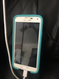 white Samsung Galaxy android smartphone with blue case Mission Viejo, 92691