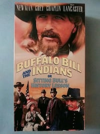 Buffalo Bill and the Indians or Sitting Bull's History Lesson vhs Baltimore