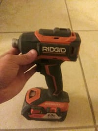 RIDGID 18 Volt Gen5x 3 Speed Cordless Impact Drive Satellite Beach, 32937