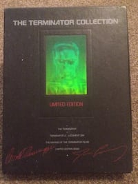 The Terminator Collection 3 VHS box set