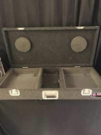 """Used Odyssey dj coffin for turntables and 10"""" mixer Long Beach, 90804"""