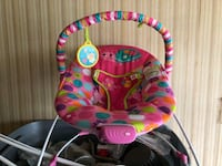 baby's pink and blue bouncer Richmond Hill, L4C 9W5