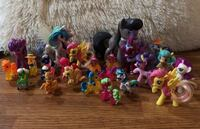 Lot of 24 my little pony figures  Tinley Park