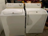 white washer and dryer set Bloomington, 61704
