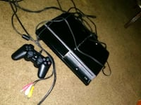 black Sony PS3 slim console with controller San Diego, 92114