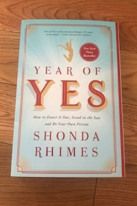 Year of Yes by Shonda Rhimes Brampton, L6P 1G8