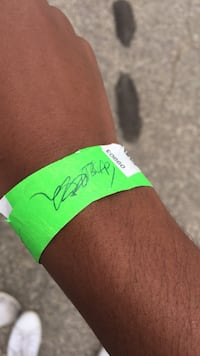 Ty Cook Signed Wristband Winnipeg, R3P 0P8