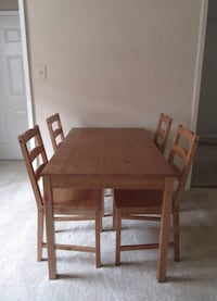 Jokkmokk dining table and chairs
