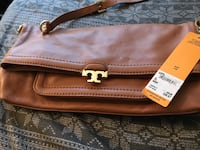 TORY BURCH Brown leather bag. NWT Citrus Heights, 95610