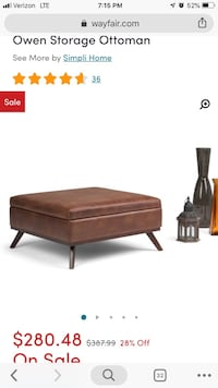 Owen Storage Ottoman Columbus, 43214