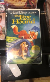Fox and the hound VHS never opened Mississauga