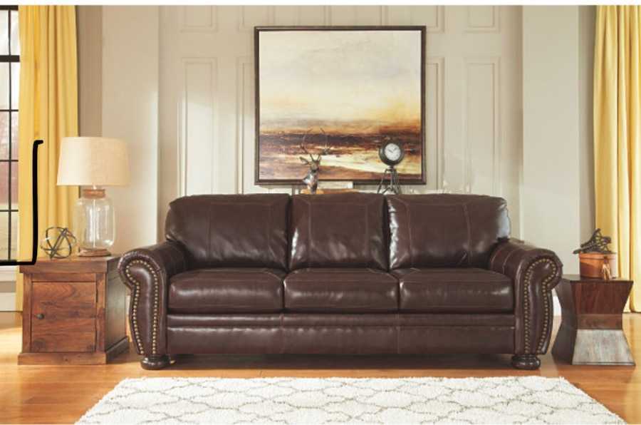 ashley furniture 3 seater leather sleeper sofa with queen size bed rh es letgo com