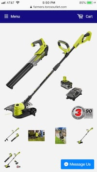 black and yellow string trimmer Farmers Branch, 75234