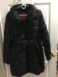Black bubble jacket