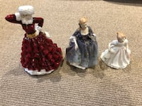 Royal Doulton Figurines (x 4)  565 km