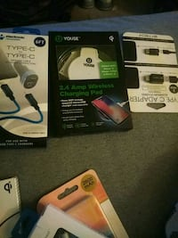 two black and white and black wireless headset boxes Gaithersburg, 20886