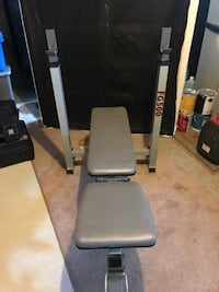 Weight bench and steel weights