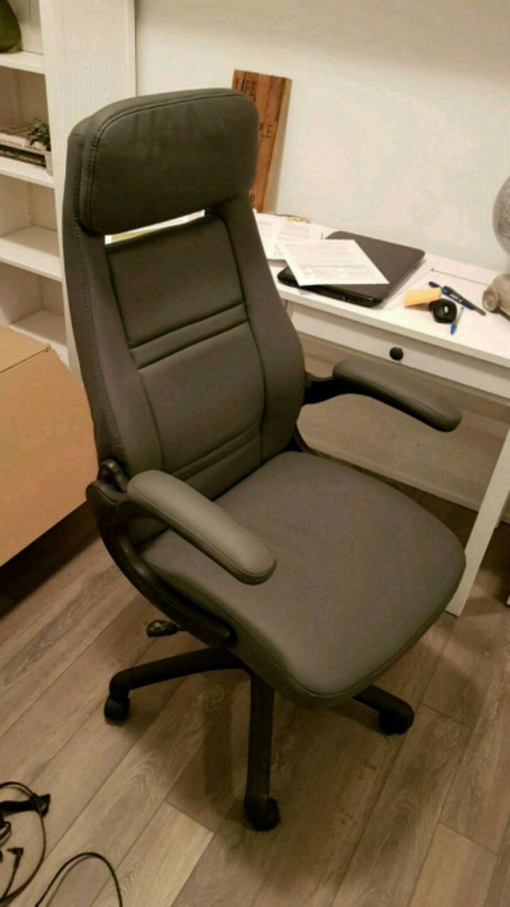 used grey office chair for sale in vaughan letgo rh ca letgo com