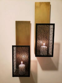 Crate&Barrel wall candles support  Mississauga, L4Y 2T8
