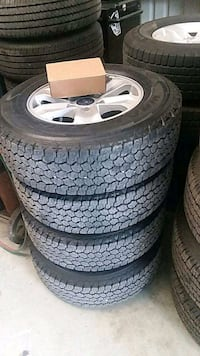 Ford Like new take off full set of rims and tires Lakeland, 33805