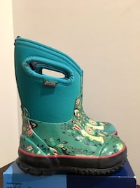 Bogs Child Classic Forest Winter Snow Boot-size 8 Reston, 20191