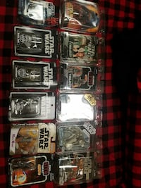 Lot of starwars figures