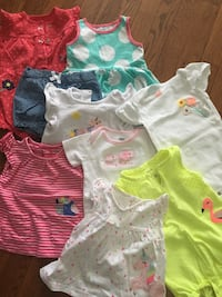 Baby girl clothes lot Falls Church, 22042