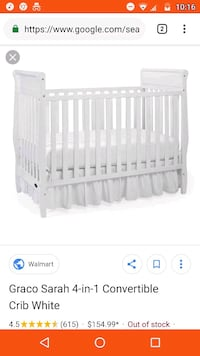 Convertable crib Knoxville, 37921