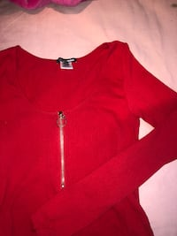 Cute red bodysuit size s/m Laval, H7W 3K7