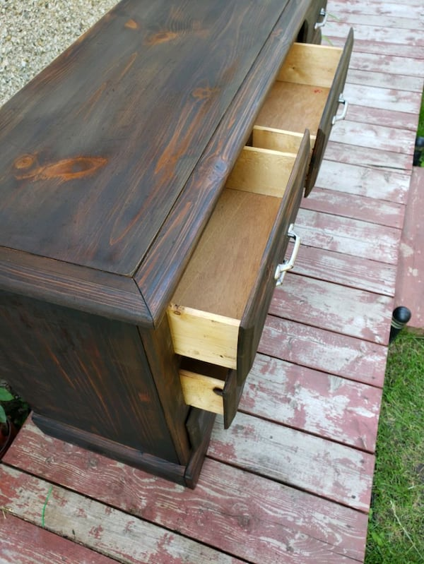 Solid wood dresser  2