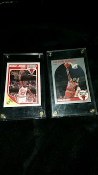 M j basketball player trading cards
