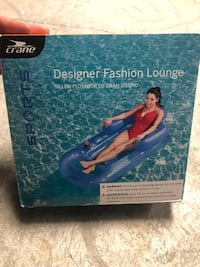 New in box pool float lounger with cup holders Omaha, 68132