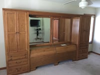 Thomas like Bedroom Set -Huge Cabinet, Dresser, Chest of Drawers Roseville, 48066