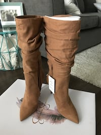 Original Jessica Simpsons suede boots. Retail price $180. Size 9 1/2  Brand new, never been worn Oakville, L6M 5H9