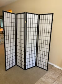 Wall divider for privacy