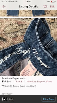 blue and white denim bottoms Muskego, 53150
