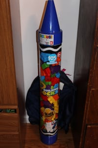 Big crayon filled with building blocks Kingsport