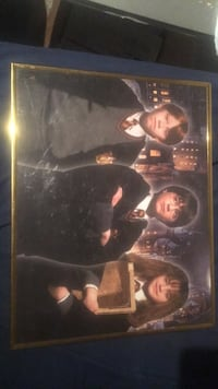 Harry Potter mounted movie poster  715 mi
