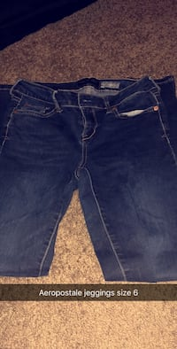 Blue denim straight-cut jeans Logansport, 46947
