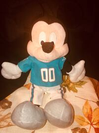 "Disney NFL ""Mickey Mouse"" Miami Dolphins shirt and pants. 16 inches- In good condition. $30 or best offer. Coral Springs, 33065"