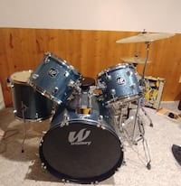 Black and gray drum set - everything is well Edmonton, T5Y