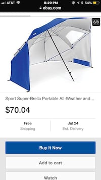 Brand New super brella 8ft wide umbrella/canopy Chula Vista, 91910