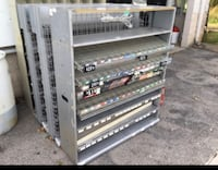 Store shelves for cigs & dips Pleasant View