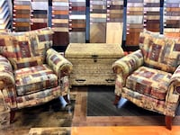 2 wing chair and/or Wicker chest Vaughan, L4K
