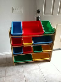 Toy storage unit great for kids room
